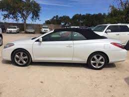 2007 toyota camry se v6 pre owned 2007 toyota camry solara se v6 2d convertible in boerne