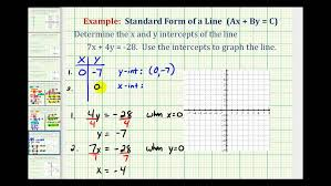2 d linear equations in standard form perpendicular 7 youtube of a