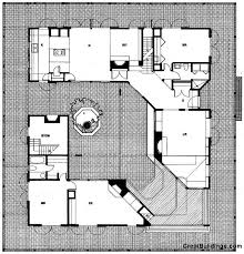 courtyard house plans 140 best house plans images on house floor plans