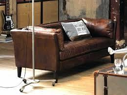 choisir canapé cuir élégant canapé cuir marron vieilli concernant design d intérieur
