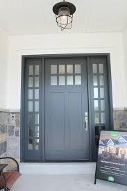 Exterior Door Paint Ideas Exterior Door Paint Color Midnight Blue By Benjamin With