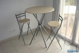 petites tables de cuisine table de cuisine type bar 2 tabourets annonce ameublement