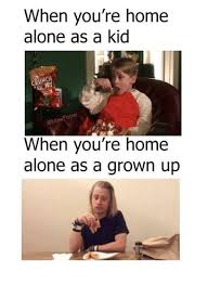 Home Alone Meme - when you re home alone as a kid gmasil when you re home alone as a