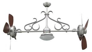 Ceiling Fan With Adjustable Lights by Nickel Dual Motor Ceiling Fan Typhoon Ap The Lamp Outlet