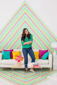 Decoration Geometric Wall Decals Home by 50 Creative Ways To Diy Your Own Wall Art Brit Co