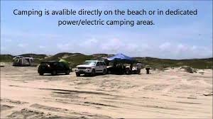 Island Beach State Park Map by Mustang Island State Park Youtube