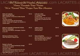 restaurant la cuisine 7 2 of 7 price lists menus la dorada restaurant fl coral gables
