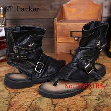 how to cut a flip for men metal star men leather gladiator sandals ntparker summer cut outs