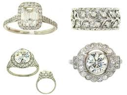 platinum pave rings images Platinum and diamond engagement rings with pave settings jpg