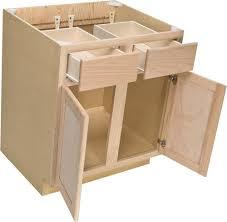 oak kitchen cabinet base quality one kitchen base cabinet at menards