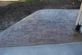 Pavers Over Concrete Patio by Dr Dan U0027s Garden Tips Stamped Concrete Vs Pavers