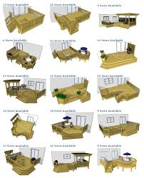 deck plans deck plans ground level residential and commercial fence