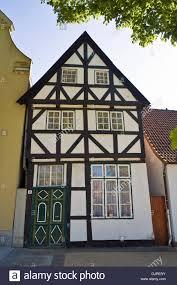 travemunde tudor style house stock photo royalty free image