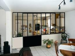 cuisine sejour porte separation vitree separation vitree cuisine salon porte de