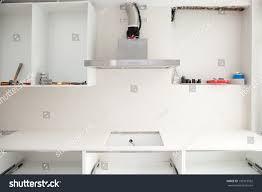 Kitchen Extractor Interior Design Construction Kitchen Cooker Extractor Stock Photo