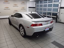 camaro coupe 2015 2015 used chevrolet camaro 2dr coupe lt w 1lt at landers ford