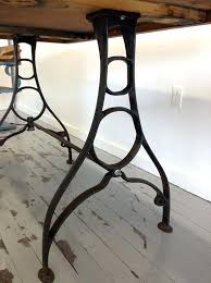 Iron Drafting Table Antique Cast Iron Bar Table Set Of Vintage Industrial Cast Iron