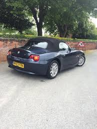 bmw z4 roadster 2 5 petrol manual convertible sport in