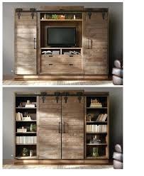 barn door tv wall cabinet tv wall cabinet with doors glamorous cabinet sliding doors for your