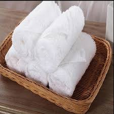 fingertip towels wholesale cheap white cotton polyester hotel