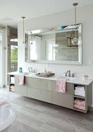 Bathroom Mirrors Frameless Beveled Bathroom Mirror Trendy Bathroom Mirror Designs Of Beveled