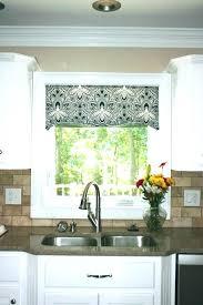 Kitchen Valance Ideas Kitchen Curtains And Valances Baddgoddess