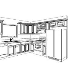Kitchen Cabinet Drawing Kitchen Cabinet Standard Dimensions Cabinets Layout Wood Tikspor