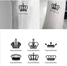 finger tattoo stickers wholesale sex you up king queen clowns wrist finger tattoos
