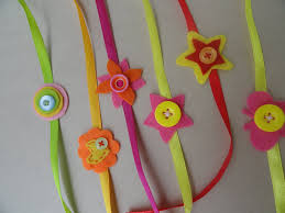 Things To Make At Home by Happy Raksha Bandhan Mommies Homemade Rakhies For Kids Fun