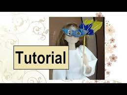 miniature mardi gras masks how to make a miniature mardi gras mask for dolls
