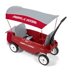 Radio Flyer Ready Ride Scooter Radio Flyer Triple Play Wagon 3 Kids Toddler Ride 6 Cup Holder