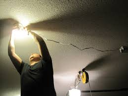garage hanging light and best 25 led shop fixtures ideas on