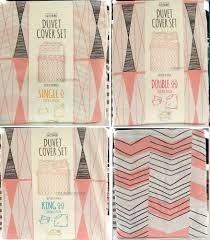 Girls King Size Bedding by Triangle Duvet Cover Set Single Double King Size Bedding Primark