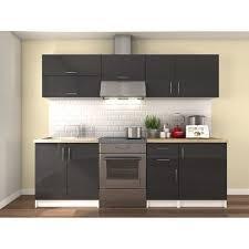 meuble cuisine et gris meuble cuisine gris laque achat vente meuble cuisine gris