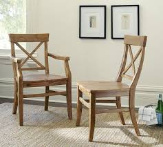 pottery barn patio furniture aaron wood seat chair pottery barn au