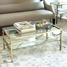 all glass coffee table gold frame coffee table coffee table gold and glass table all glass