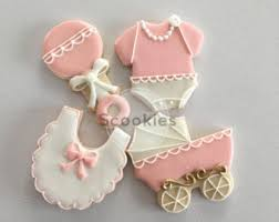girl baby shower baby shower cookies etsy