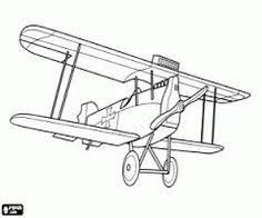 airplane coloring page biplane birthday parties pinterest