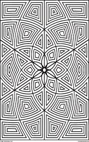 geometric coloring sheets free coloring sheet