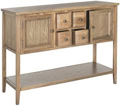 dining room consoles buffets amazon com safavieh american home collection howden medium oak
