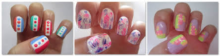 three easy nail art designs dry brush nails step by step nail