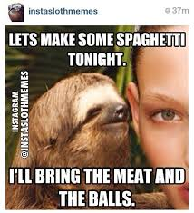 Make A Sloth Meme - 75 best inappropriately hilarious sloth images on pinterest sloth