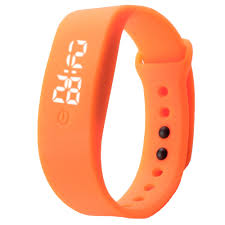 silicone bracelet watches images Led wrist watch watch womens watch mens watch digital sports jpg