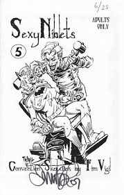 convention sketches by tim vigil soft cover 3d nimm98