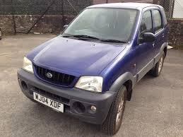 daihatsu terios daihatsu terios 4x4 tracker 1 3 mot failure expires 25 03 17