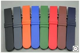 bracelet montre silicone images Bracelet montre caoutchouc italien classique marron pas silicone jpg