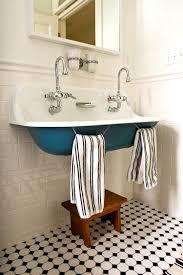 troff sinks bathroom trough sinks colored powder coating the inspired room