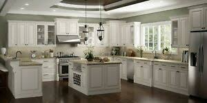 white glazed kitchen cabinets details about fully assembled 10x10 casselberry antique white brown glaze kitchen cabinets