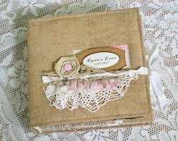 rustic wedding albums bridal shower album etsy