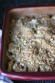 Oatmeal Toppings Bar Easy Apple Crisp With Oatmeal Crumb Topping Golden Barrel